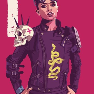 These Game of Thrones Sand Snakes Posters Put Some Mad Max in Dorne