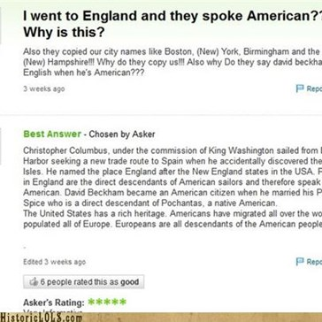 """American History"" - The Stupidity Of Some People Is Astounding..."