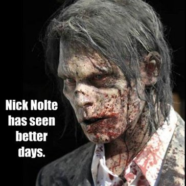 Nick Nolte has seen better days.