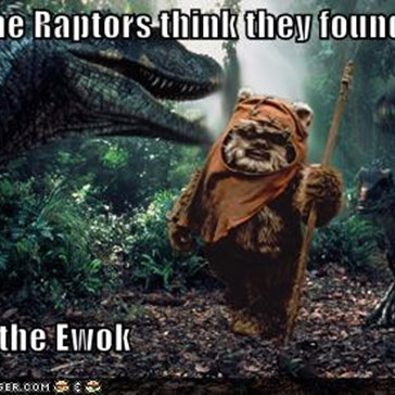 The Raptors Think They Found Lunch