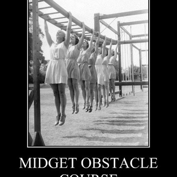 MIDGET OBSTACLE COURSE