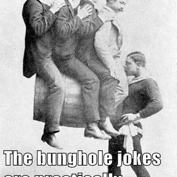 The bunghole jokes are practically writing themselves.