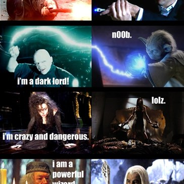 Harry Potter Vs. Everybody