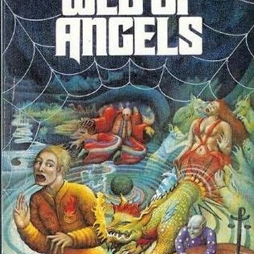 WTF Sci-Fi Book Covers: Web of Angels