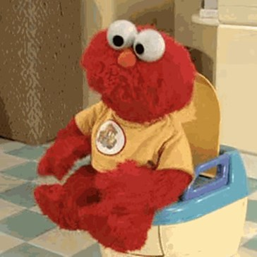 Toilet Dancing Elmo