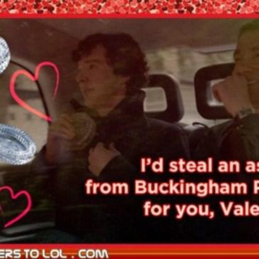 Sherlock Valentines