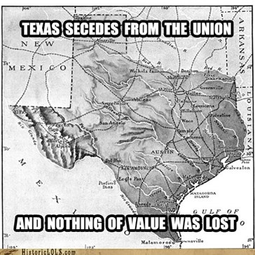 This Day in History: Texas Secedes from the Union