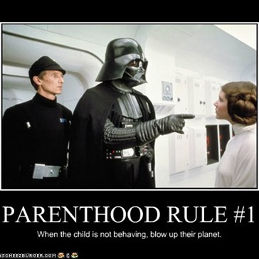 Parenthood Rule Number One