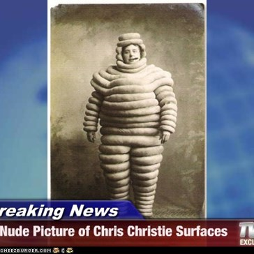 Breaking News - Nude Picture of Chris Christie Surfaces