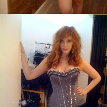 Christina Hendricks' Cell Phone Hacked: Topless Photo Leaks!