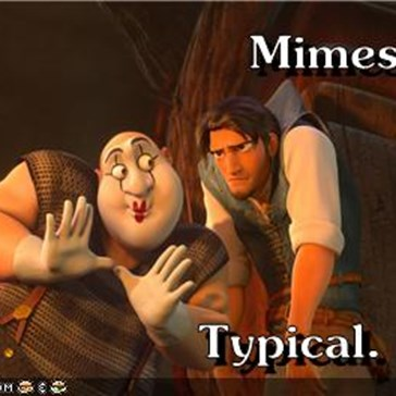 Mimes...