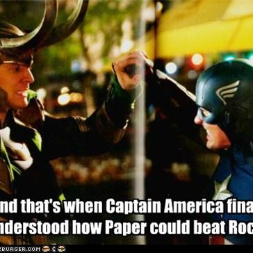 Rock, Paper, Scissors: Superhero Edition