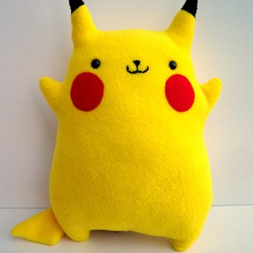 Huggable Pikachu