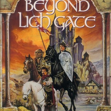 WTF Fantasy Book Covers: Beyond Lich Gate