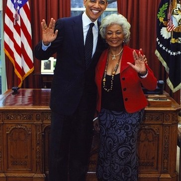 Lieutenant Uhura Visited the White House