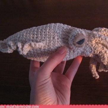 Cuttlefish Amigurumi Pattern
