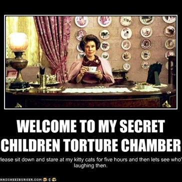 WELCOME TO MY SECRET CHILDREN TORTURE CHAMBER
