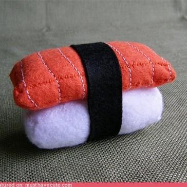 Salmon Sushi Pincushion
