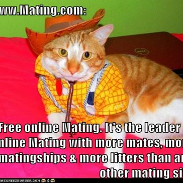 www.Mating.com:  Free online Mating. It's the leader in online Mating with more mates, more matingships & more litters than any other mating site