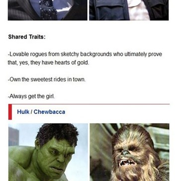 Set Phasers to LOL: Star Wars Vs. Avengers