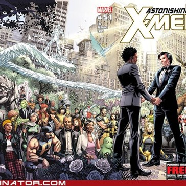 2-Men X-Men Wedding