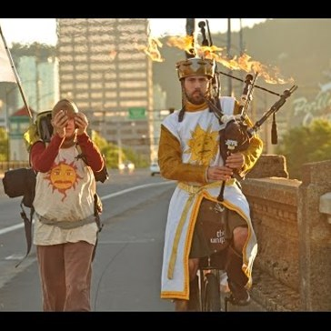 Portland, Oregon: The Place to Find Unicyclists Performing Monty Python and the Holy Grail With Flaming Bagpipes