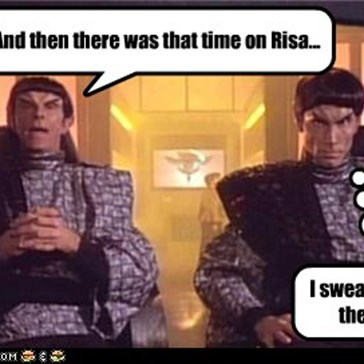 And then there was that time on Risa...