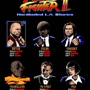 Pulp Fighter: The Pulp Fiction Fighting Game