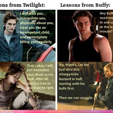 """Twilight"" vs ""Buffy"""