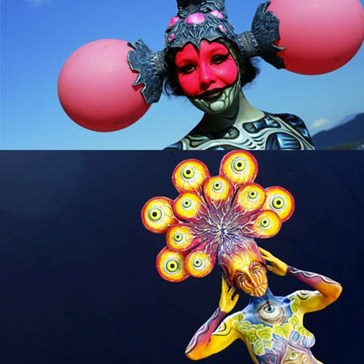2012 World Bodypainting Festival