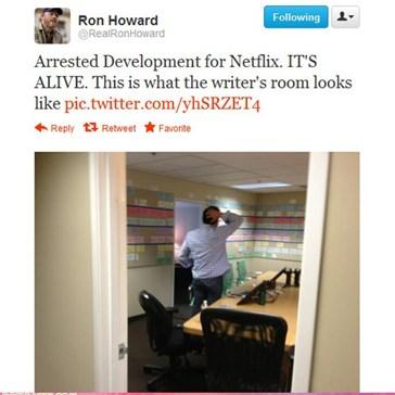 """A Peek Inside The """"Arrested Development"""" Writer's Room!"""