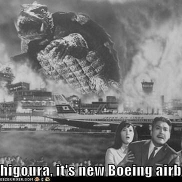 Michigoura, it's new Boeing airbus!