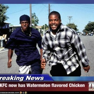 Breaking News - KFC now has Watermelon flavored Chicken