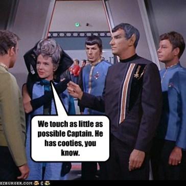 Not just cooties, but Vulcan cooties.