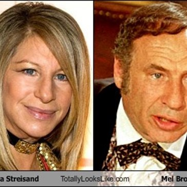 Barbara Streisand Totally Looks Like Mel Brooks