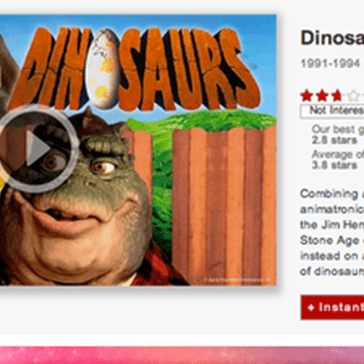 "Big News! ""Dinosaurs"" is Now on Netflix Instant!"