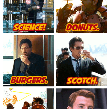 Things Tony Stark Loves