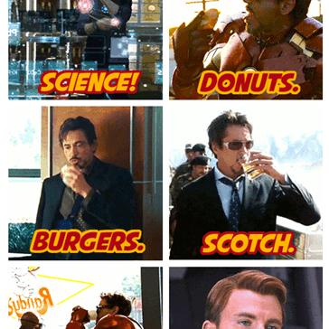 Things Tony Stark Loves