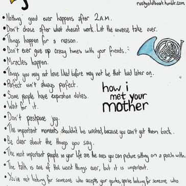 "Life Lessons From ""How I Met Your Mother"""