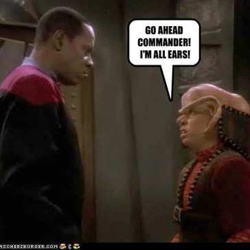 A Little Ferengi Humor