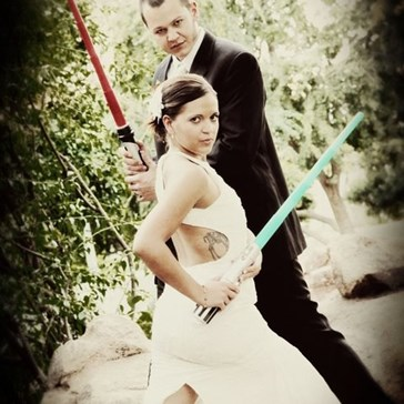 Wedinator: The Force is Strong With These Two