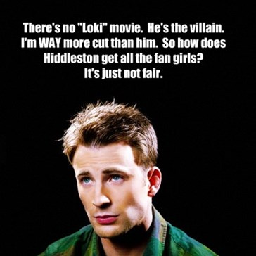Chris Evans Problems