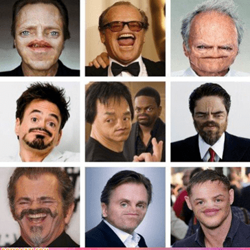 Celebrities Without Noses