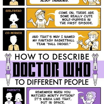 Explaining Game of Thrones and Doctor Who