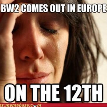 First World European Problems