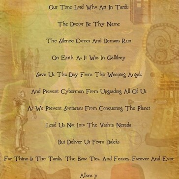 The Whovian Prayer