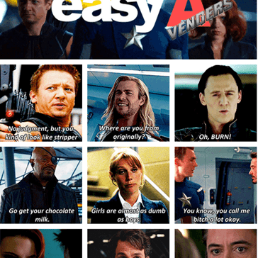 "The ""Easy A"" Vengers"