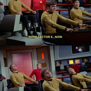 The Most Relaxing Warp Factor