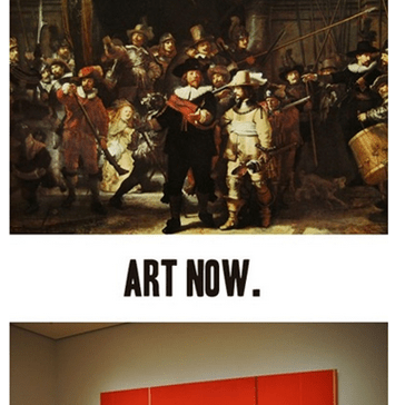 Art Sure has Changed...