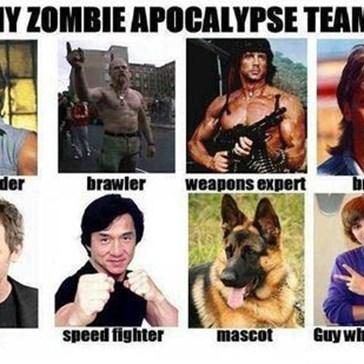 Zombie Apocalypse Team Assemble!